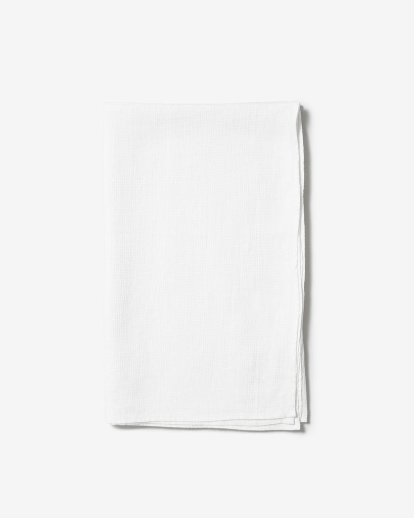 BATH TOWEL 01 WHITE - Soeder*