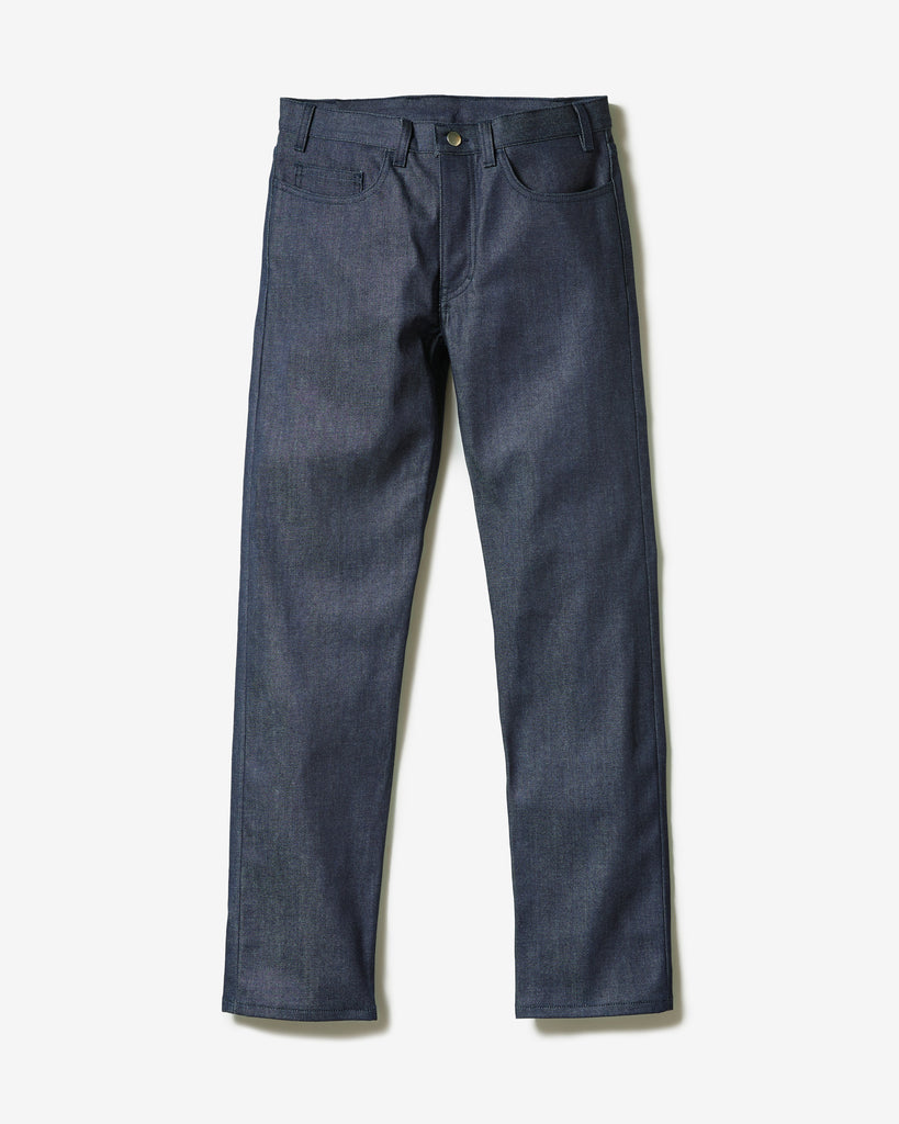 JEANS ORGANIC RAW SELVEDGE REGULAR* raw blue