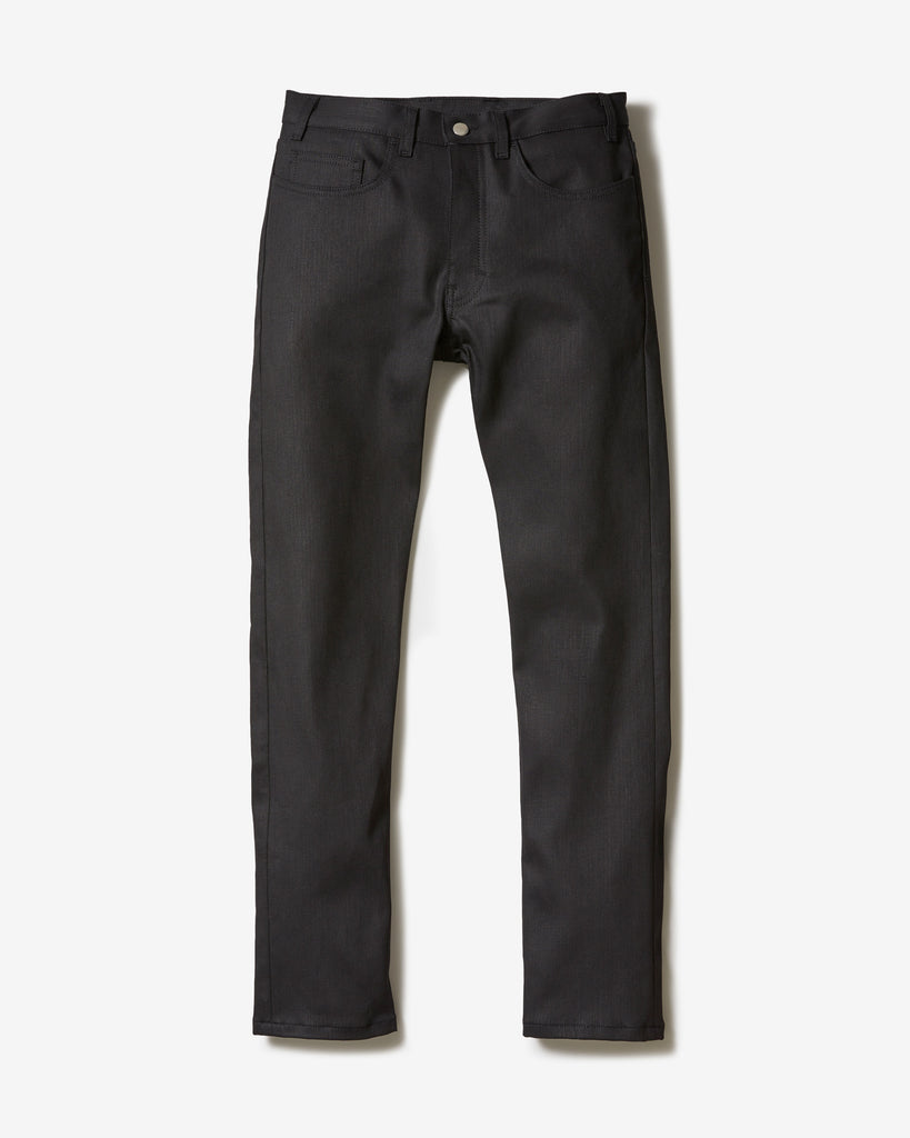 JEANS ORGANIC BLACK TAPERED* schwarz