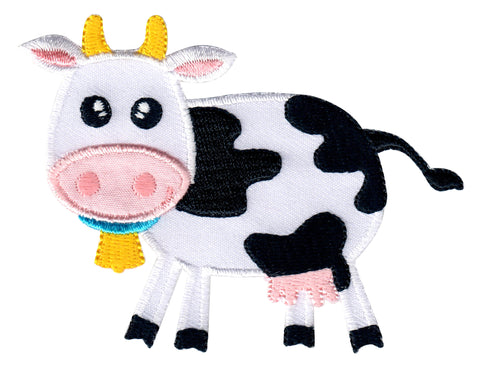 Farm Animal Iron On Patches and Sew On Appliques for Kids