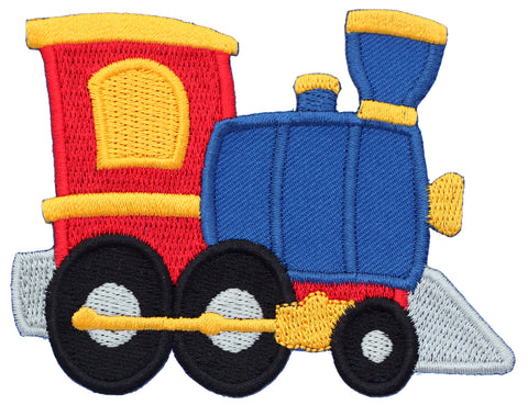 Transportation Iron On Patches and Embroidered Sew On Appliques for kids