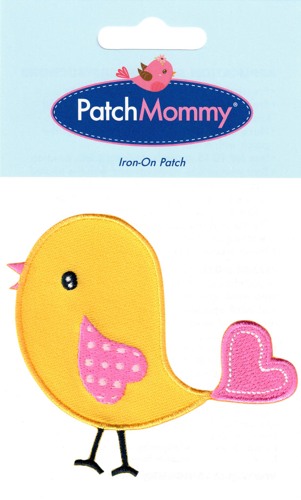 Bird patches animal