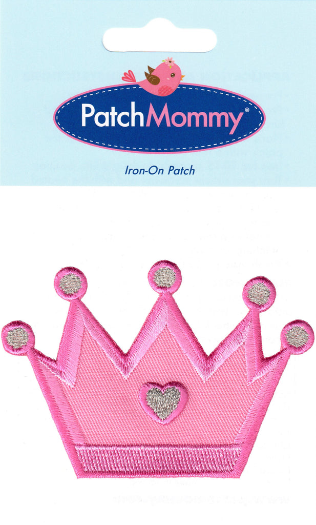 Princess crown patches