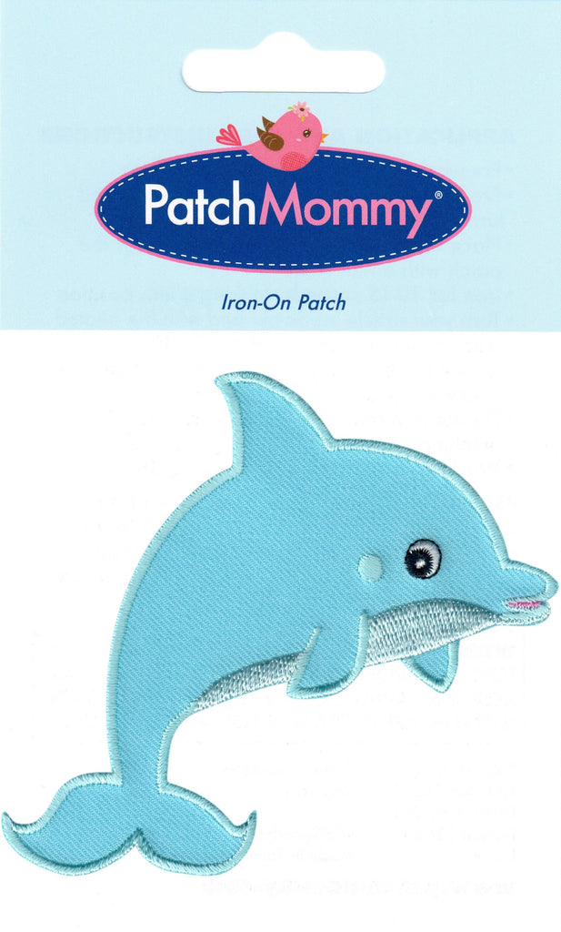 Dolphin patch ocean animal