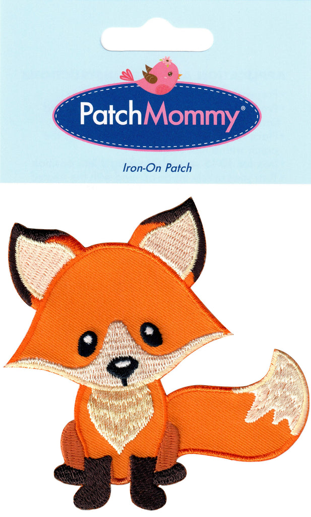 Fox patches woodland animal