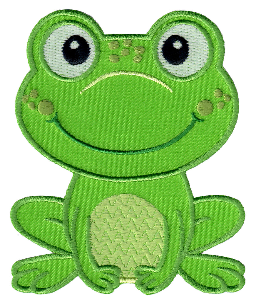 Frog Iron On Patch - Iron On Applique