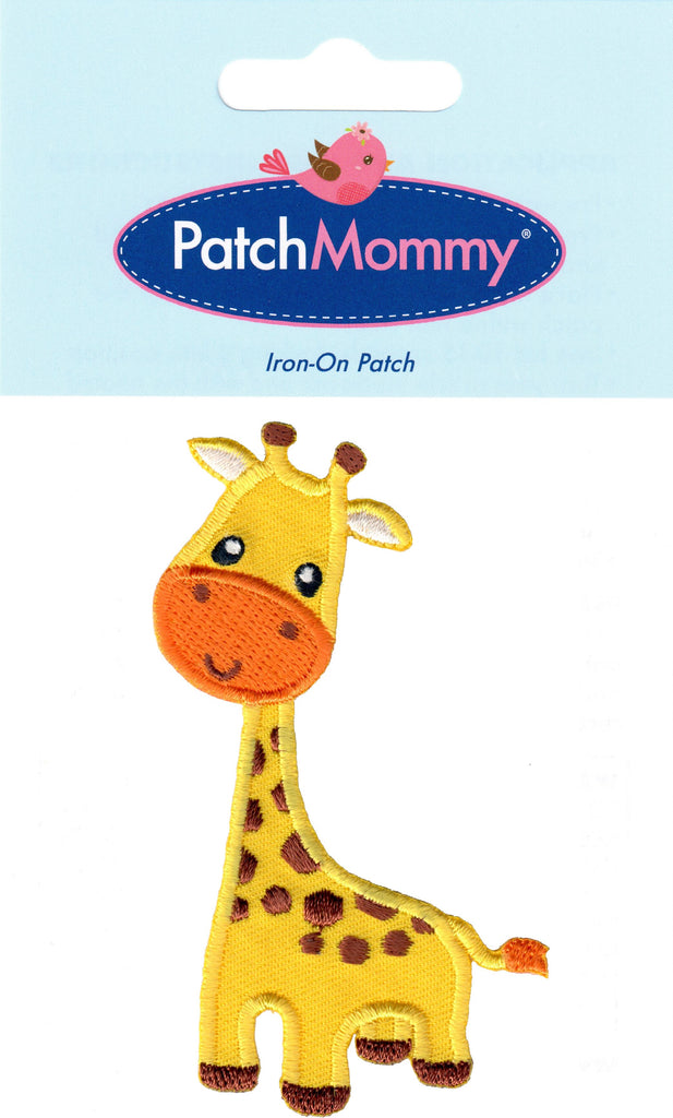 Giraffe patches animal