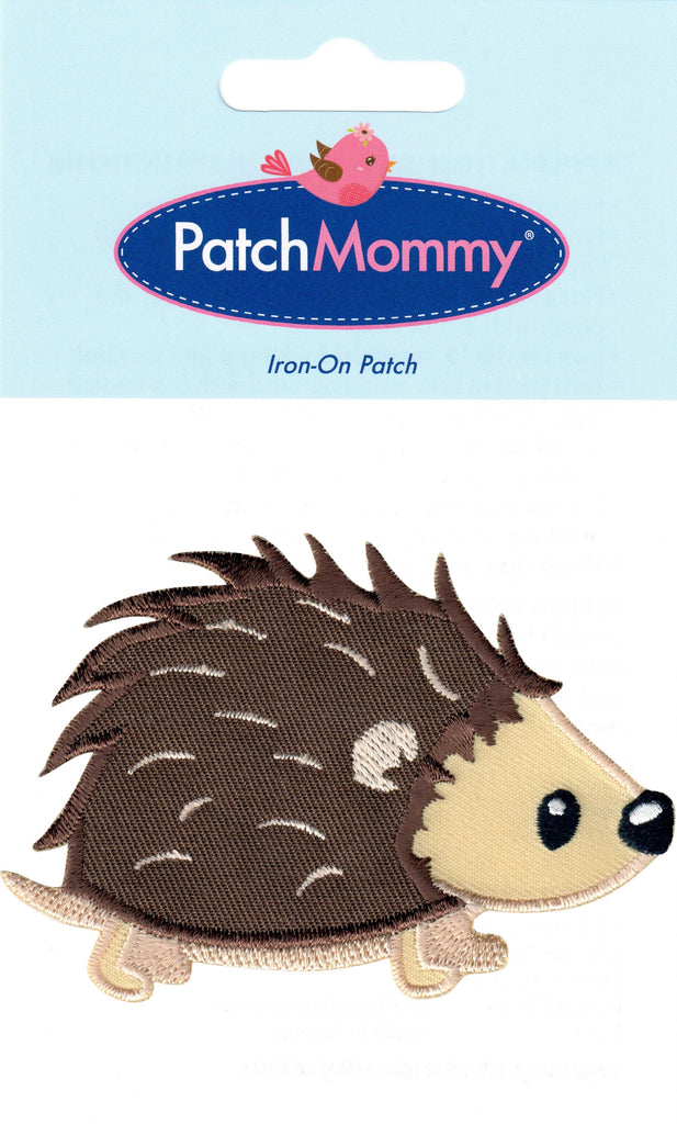 Hedgehog Iron On Patch - Iron On Applique