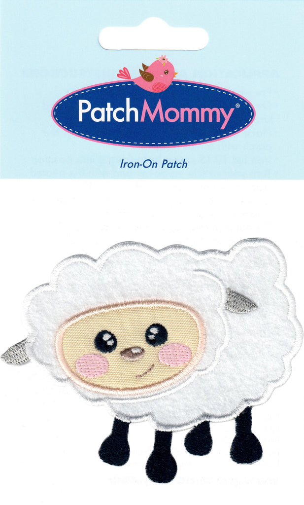 sheep patches farm animal