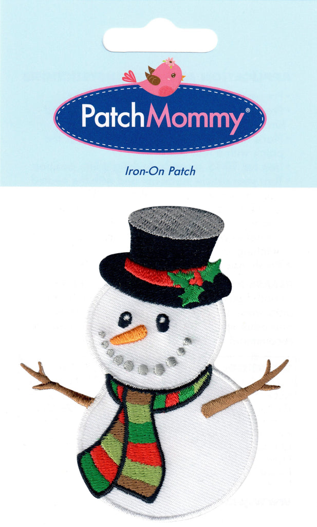 Snowman patches christmas