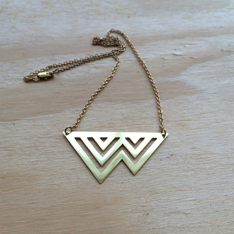 TWIN PEAK NECKLACE