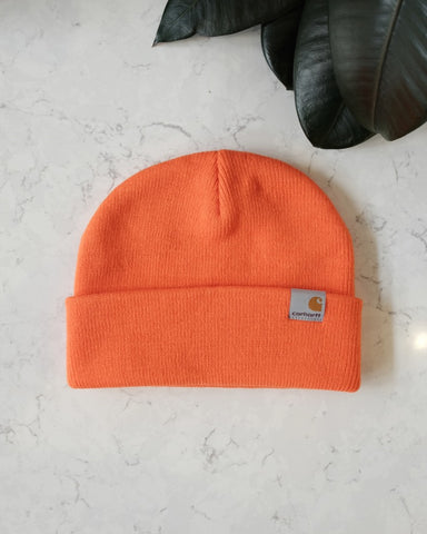 Stratus Beanie, Safety Orange