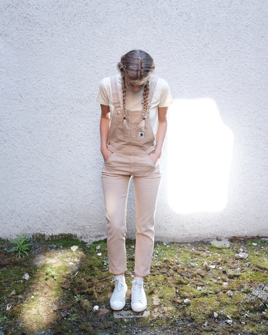 Carhartt WIP Bib Overall, Aged Canvas
