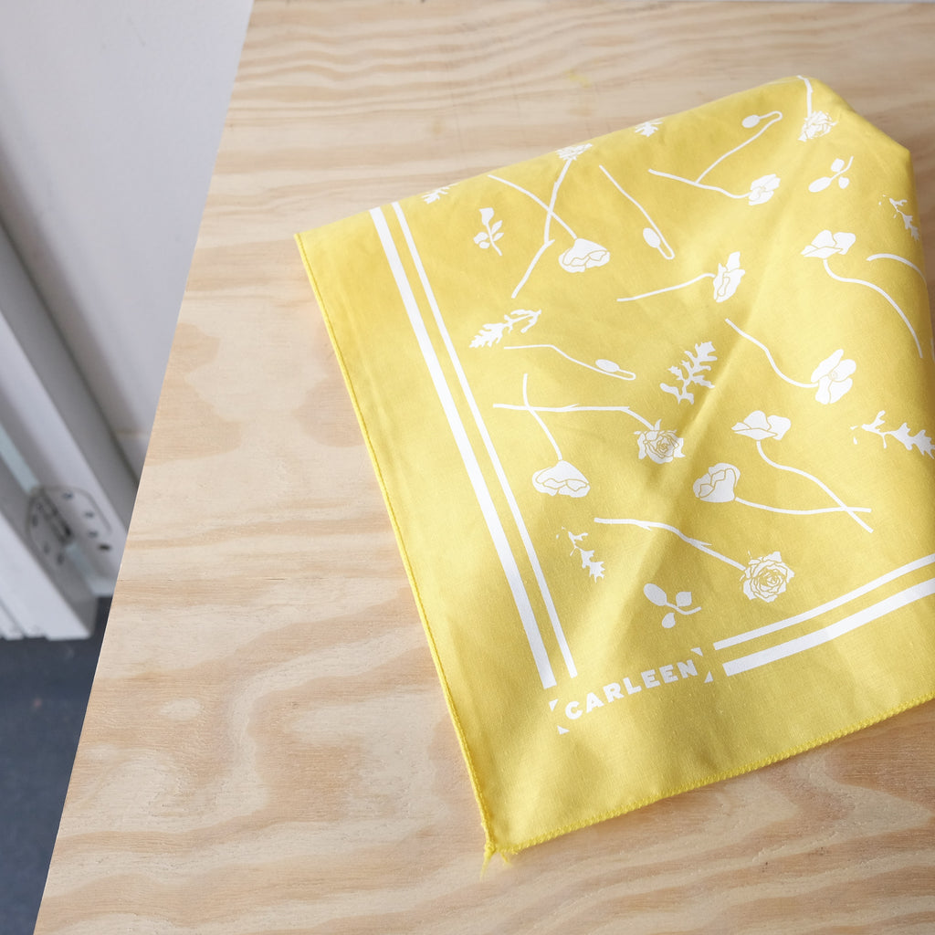 Bicoastal Bandana, Yellow