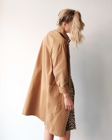 Carleen Harris Duster Coat, Wheat