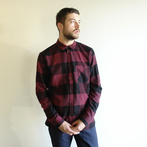 Give Shirt, Red Plaid