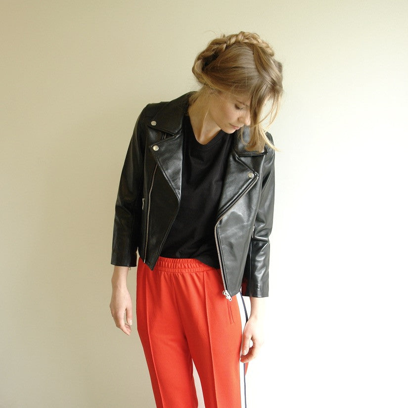 Passion Leather Moto Jacket