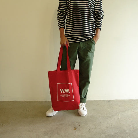 Desi Tote Bag, Red