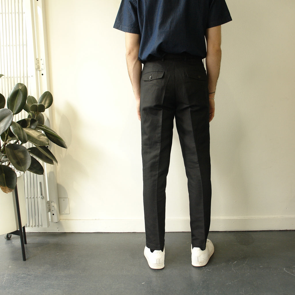 Gordy Pant Linen, Black