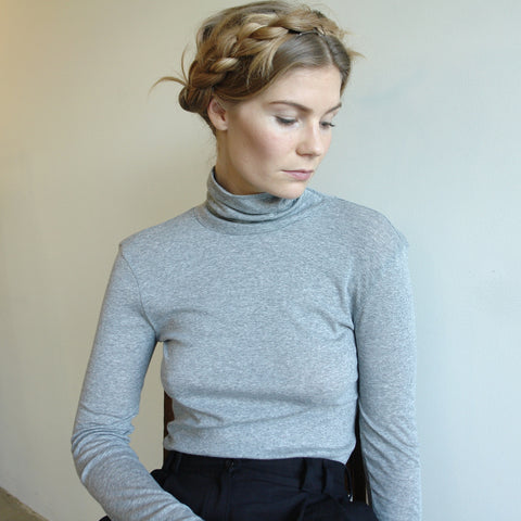 Riz Turtleneck, Grey