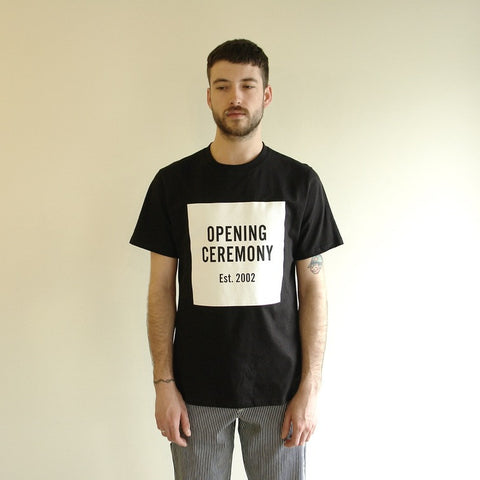 Opening Ceremony Logo Tee, Black