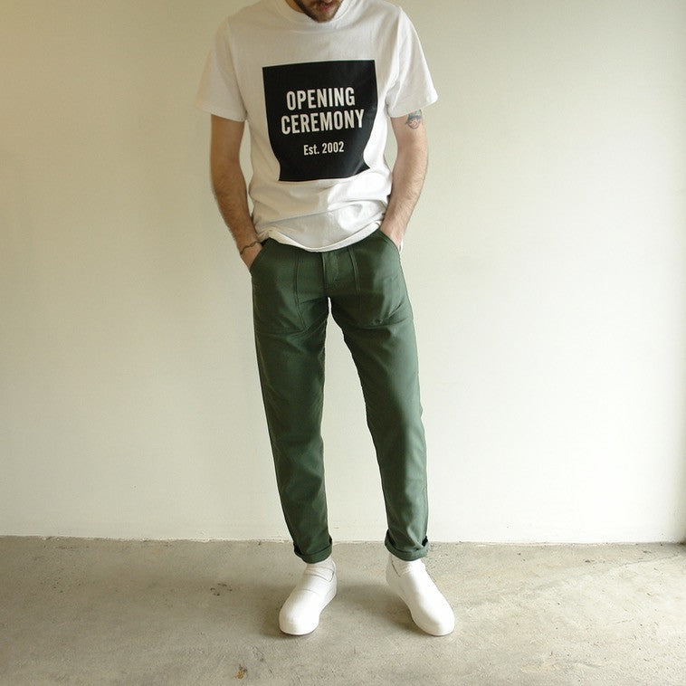 Stan Ray Slim Fit Pant Olive
