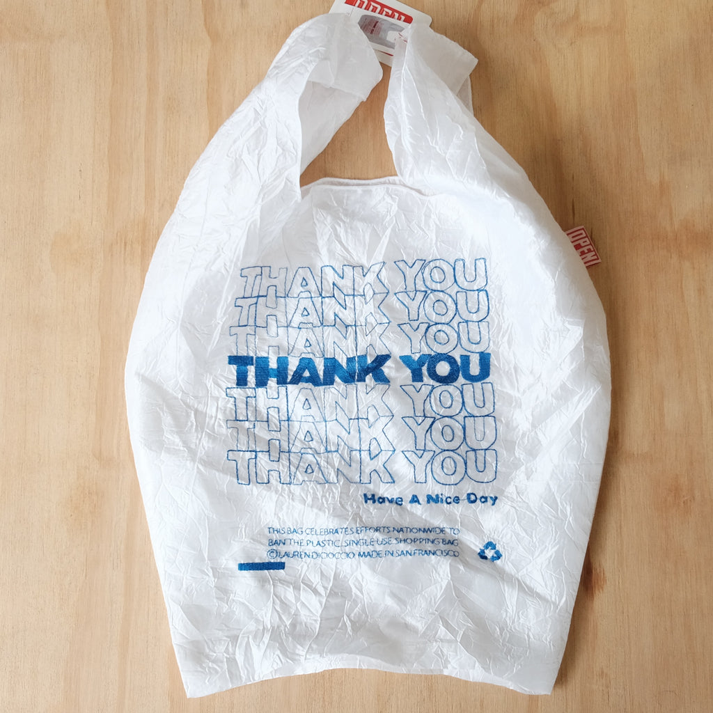 Thank You Tote, Blue