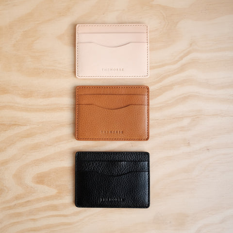 The Horse / Flatboy Wallet / Natural