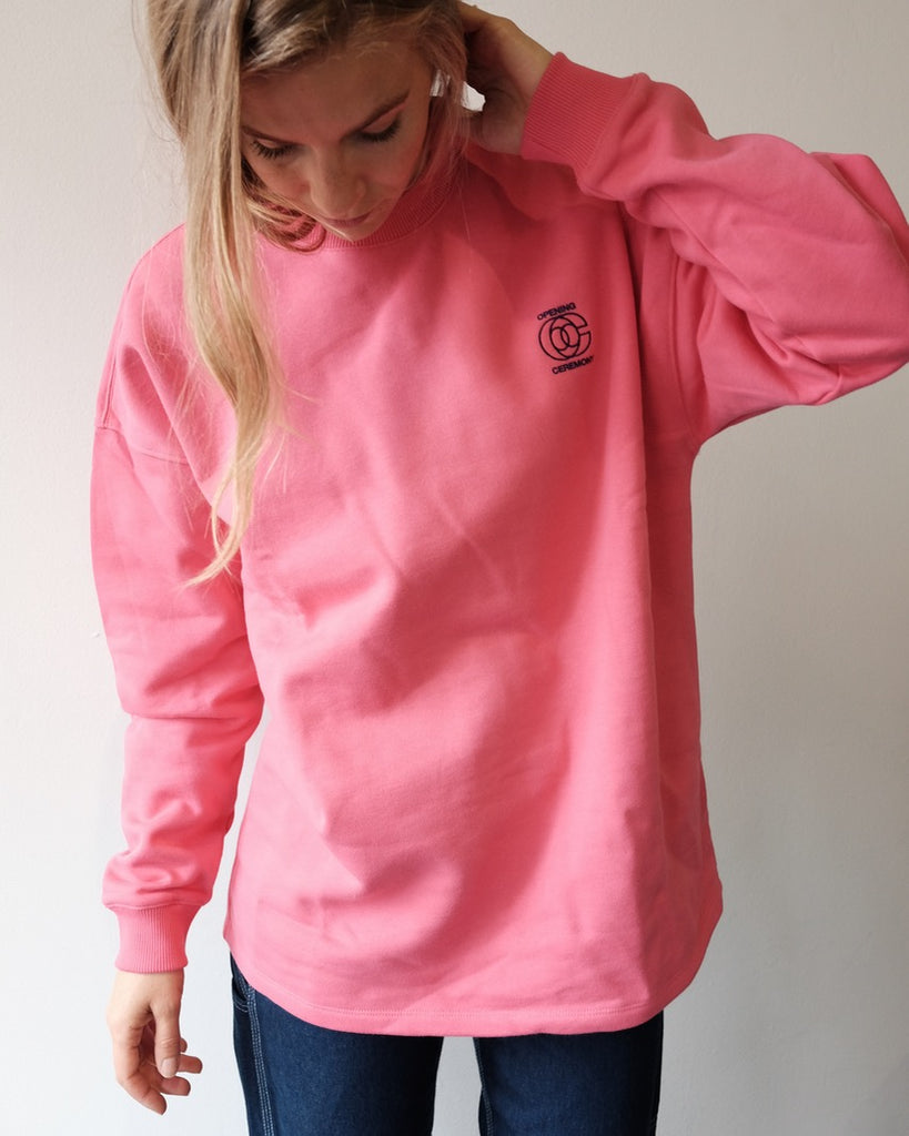 Unisex Cozy Sweatshirt, Rose