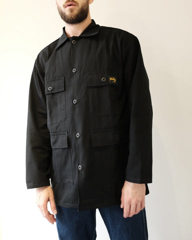 Black Twill Four Pocket Jacket