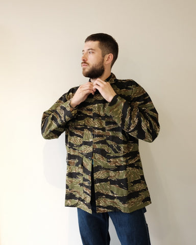 Camo Four Pocket Jacket