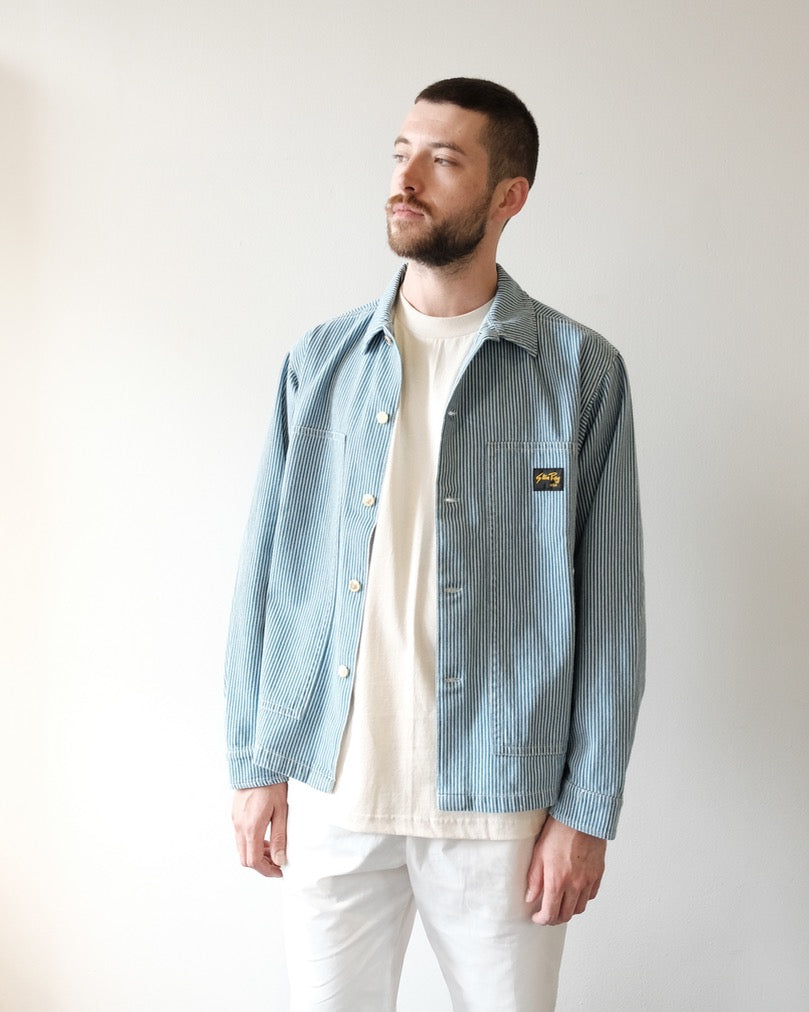 Box Jacket, Bleached Hickory