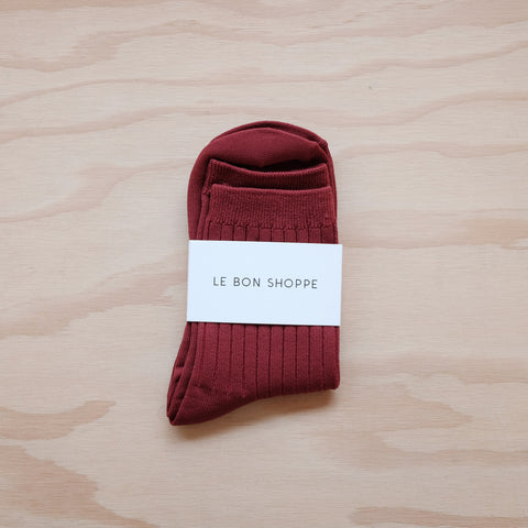 Sorbet Socks, Bordeaux