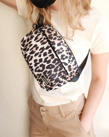 Leopard Tech Bag