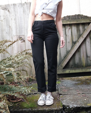Pierce Pant, Black Rinse