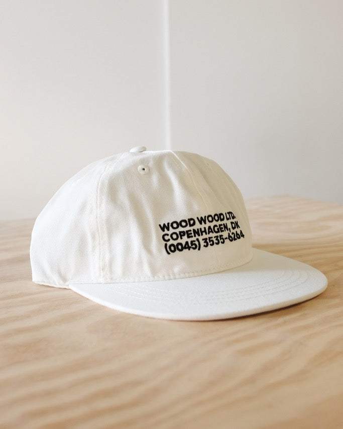 Baseball Cap WW, White