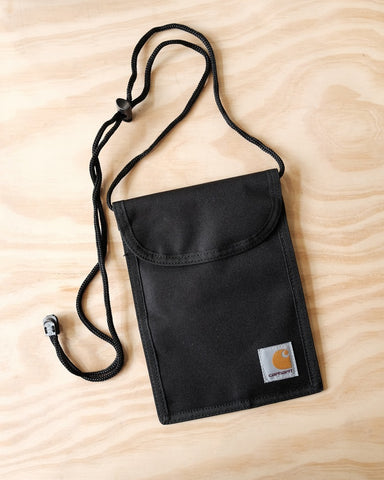 Collins Neck Pouch, Black