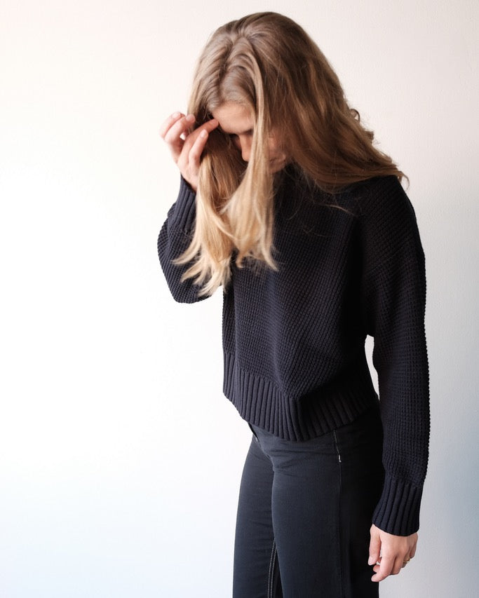 Manon Sweater, Navy
