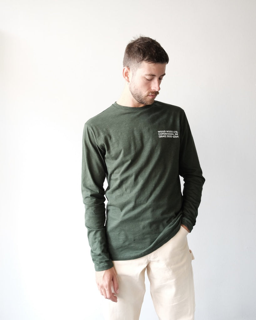 Peter Long Sleeve, Green