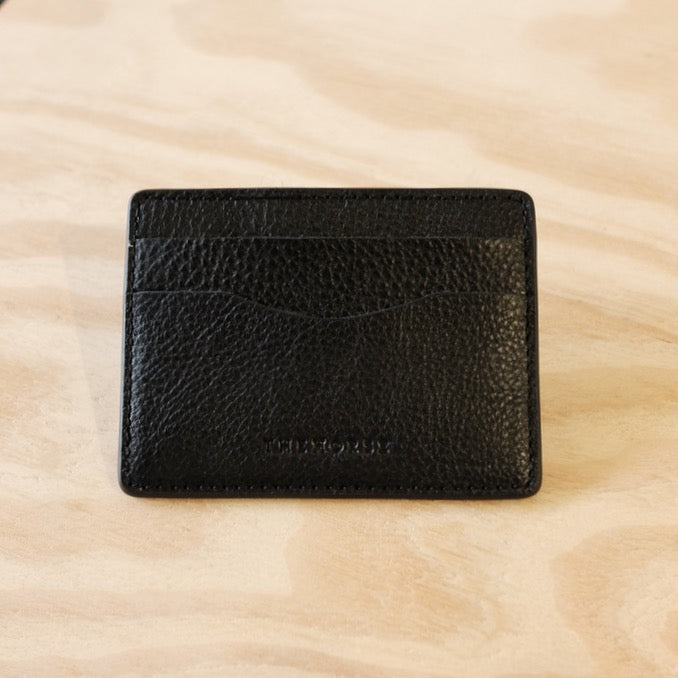 The Horse / Flatboy Wallet / Black