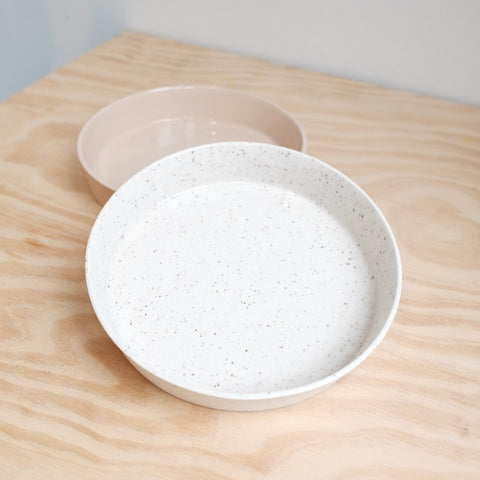 Large Tray, Speckled