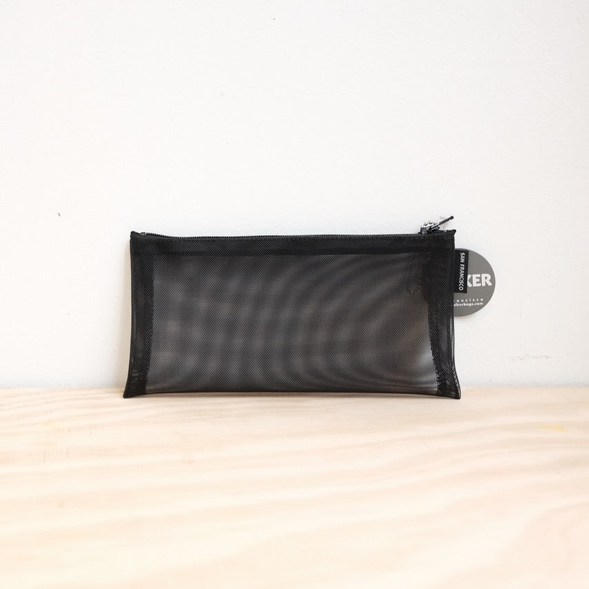 Flat Zip Case, Black