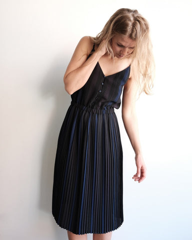 Lisbon Dress, Auro Stripes