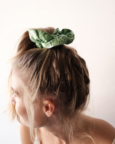 Island Green Scrunchie