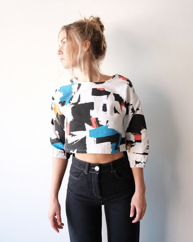 Midnight Top, Multi Print