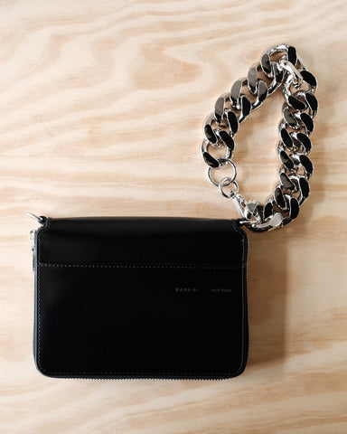 Large Bike Wristlet, Black