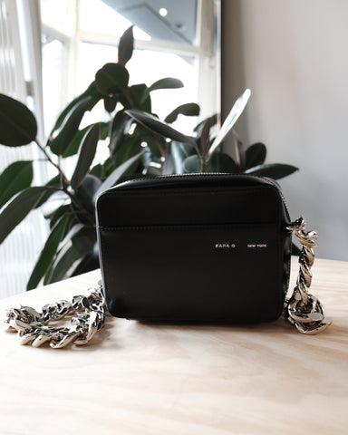 Chain Camera Bag, Black