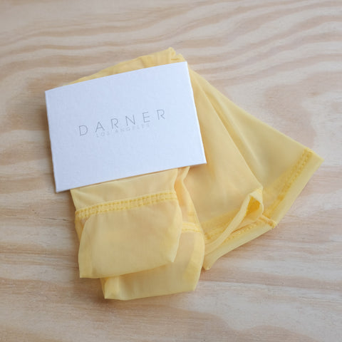Darner Socks, Yellow