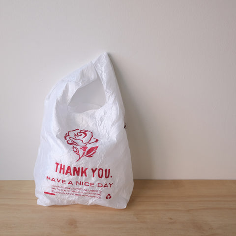 Thank You Tote, Single Rose