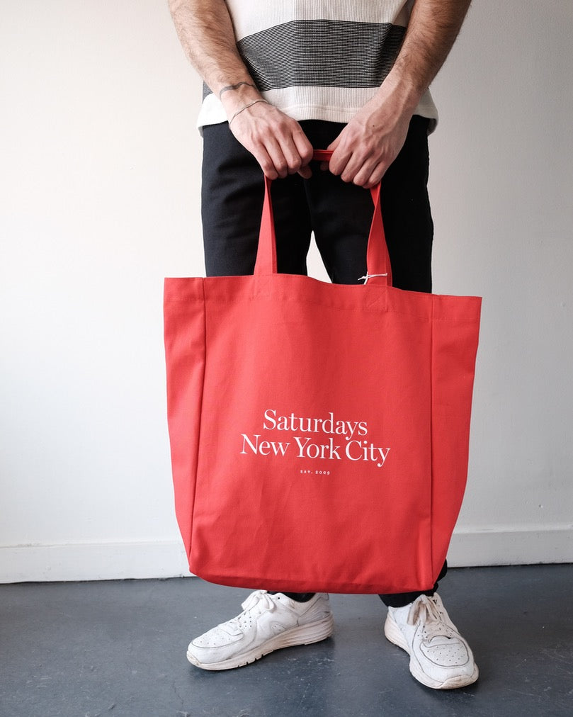 Saturdays Miller Tote, Red